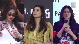 Diana Penty, Adah Sharma, and Others Join College Students for their Festival