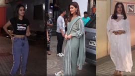 Bollywood Celebrities Spotted Over the Weekend in their Fashionable Avatar