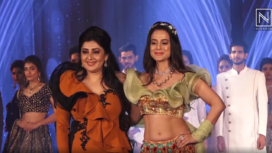 Ameesha Patel Turns Muse to Archana Kochhar at a Fundraising Fashion Show