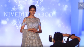 Nivedita Saboo Showcases her Bridal Collection at Parkinson's Awareness Event