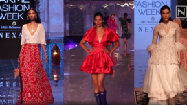 Deep V-Neckline Trend Took Over the Runway of Lakme Fashion Week WF'19