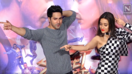 Varun Dhawan and Shraddha Kapoor's Banter During Street dancer 3D Trailer launch