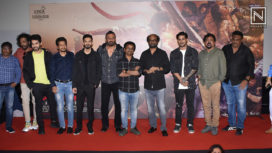 Rajinikanth and Suniel Shetty Among Others at the Trailer Launch of Darbar