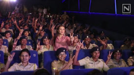 Rani Mukerji Hosts a Special Screening of Mardaani 2 for the Police Officers