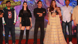 Salman Khan Along with the Dabangg 3 Team Launch Munna Badnaam Hua Song