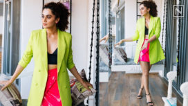Taapsee Pannu Speaks Up About her Movie Rashmi Rocket and her Love for Running