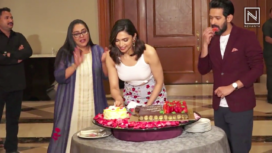 Deepika Padukone Celebrates her Birthday with the Chhapaak Team