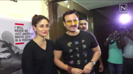 Kareena Kapoor, Saif Ali Khan, Alaya F and More at Jawaani Jaaneman Screening