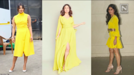 Celebs Work their Look in Buttercup Yellow Ensembles