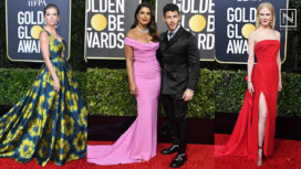 A Host of Celebrities Walk the Red Carpet at Golden Globe Awards 2020 in Style