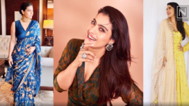 Top Five Uber Stylish Look of Kajol from Tanhaji Promotion