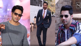 Top Five Promotional Look of Varun Dhawan from Street Dancer Promotions