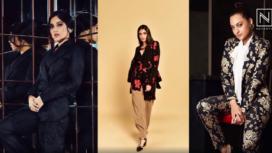 Bollywood Divas Making Statement with Floral Print Blazer