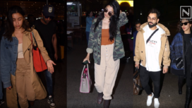 Bollywood Celebrities Keep their Airport Fashion Game on Point