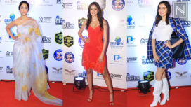 Celebs Grace the Red Carpet of Lions Gold Awards 2020