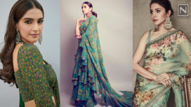 Bollywood Divas Making a Statement in Some Gorgeous Green Hued Saris