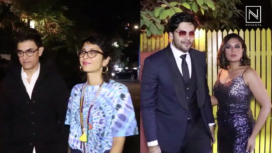 Bollywood Celebs Attend Javed Akhtar's Retro-Themed Bash