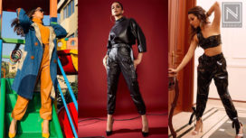 Celebs Keep their Street Style On Point in Trendy Leather Trousers