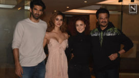 Disha Patani and Aditya Roy Kapur Among Others from Malang Have a Get Together