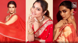 Ten Gorgeous Red Sari Looks Served by the Bollywood Divas for the New Brides