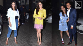 Bollywood Celebs Come for the Special Screening of Street Dancer 3D