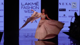 Tara Sutaria Turns Gorgeous Showstopper for Punit Balana at LFW SR 20