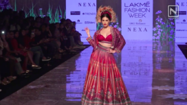 Amyra Dastur Turns Stunning Muse to Rajdeep Ranawat at LFW SR 20