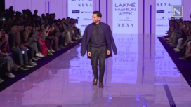 Kunal Kemmu Turns Muse for Kunal Anil Tanna at LFW SR 20