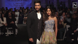 Janhvi Kapoor and Vicky Kaushal Turn Showstoppers for Gen Next Alumni at LFW SR 20