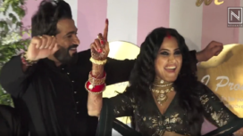 Celebrities Mark their Attendance at Kamya Punjabi's Wedding Reception