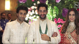 Bollywood Celebs Mark their Presence at Armaan Jain and Anissa Malhotra's Wedding