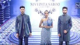 Guru Randhawa Turns Muse to Nivedita Saboo at Dadasaheb Falke International Film Festival