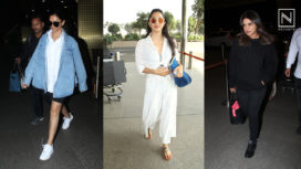 Bollywood Stars Serving Some Major Fashion Inspo with their Airport Style