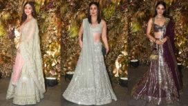 Bollywood Celebs at Armaan Jain and Anissa Malhotra's Wedding Reception
