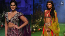 Ileana D'Cruz and Athiya Shetty Strut the Ramp for Mrunalini Rao at LFW SR 20