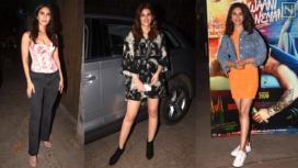 Bollywood Celebs Attend the Special Screening of Jawaani Jaaneman