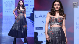 Soha Ali Khan Turns Showstopper for Shahin Mannan at LFW SR 2020