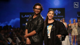 Sunny Leone Stuns as the Showstopper for Swapnil Shinde at LFW SR 2020