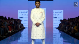 Amit Sadh Sashays the Ramp for Arthya by TISA at LFW SR 20