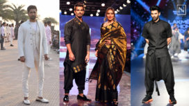 Top Five Showstoppers Who Aced their Ramp Walk at LFW SR 20 - Male