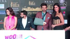 Katrina Kaif, Dia Mirza and Kartik Aaryan Attend IIFA 2020 Press Conference