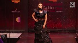 Meghana Goankar Walks the Ramp for Ramesh Dembla at BFW Summer Online 2020