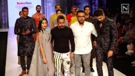 Sayani Gupta and Saqib Saleem Walk the Ramp for Dev R Nil at BTFW 2020