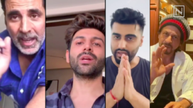 Bollywood Celebs Unite to Spread Awareness on COVID 19