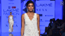 Shriya Som Showcases her Collection Trouvaille at LFW SR 20