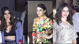 Bollywood Celebrities Attend Special Screening of Angrezi Medium