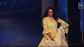 Nithya Menen Turns Muse to Kaveri at Lakme Fashion Week SR 20