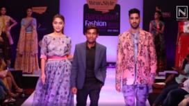 Vishal Khatri Presents his Collection at Bangalore Fashion Week 2020