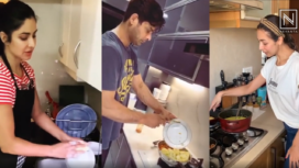 Bollywood Celebrities Doing Household Chores During Self-Quarantine