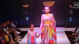 Aishwarya Rajessh Turns Muse to Devi Muthukumar at Bangalore Fashion Week 2020